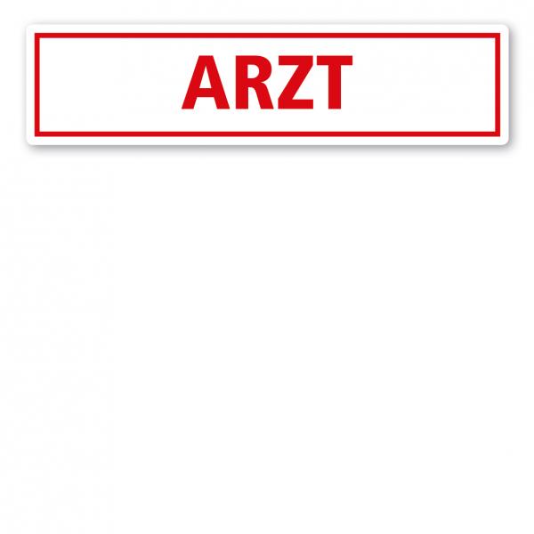 KFZ - Magnetschild Arzt