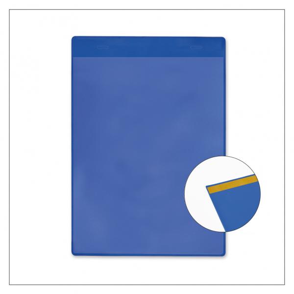 Einstecktasche / Dokumententasche - blau
