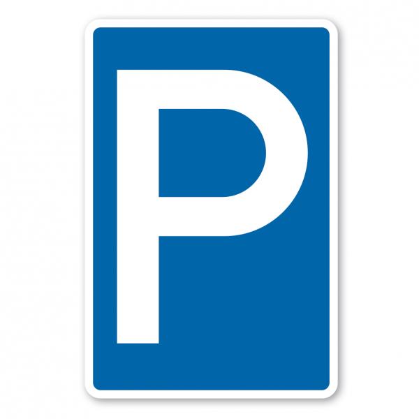Parkplatzschild Parken - Verkehrsschild