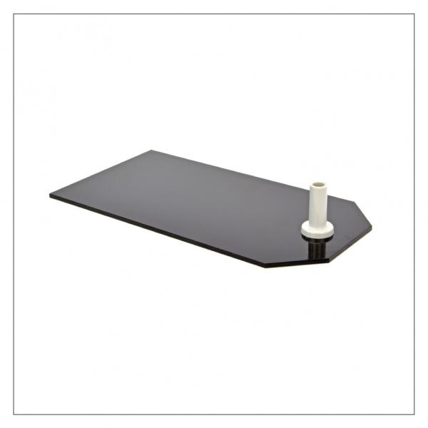 Fußplatte XXL - schwarze Ausführung