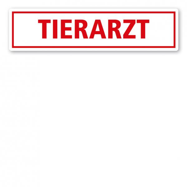 KFZ - Magnetschild Tierarzt