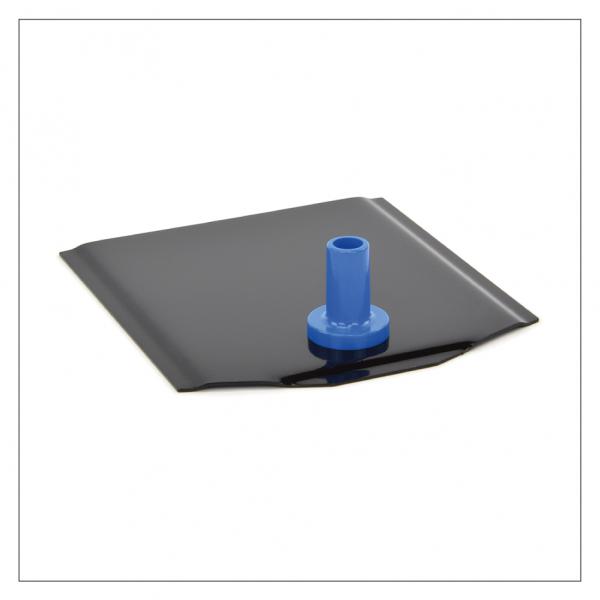 Fußplatte Standard - schwarze Ausführung