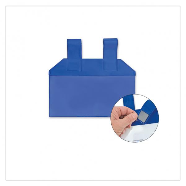 Einstecktasche mit magnetischen Aufhängeschlaufen - DIN lang