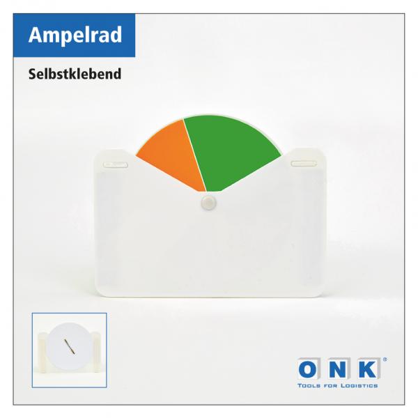 ONK - Ampelrad zur Lagerbestandskennzeichnung - selbstklebend
