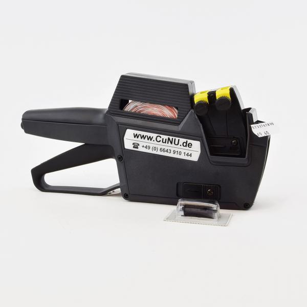 Profi Etikettiergerät für Preise, Datum, Artikelnummern – Modell CuNU 2516 – für 25 x 16 mm Etiketten