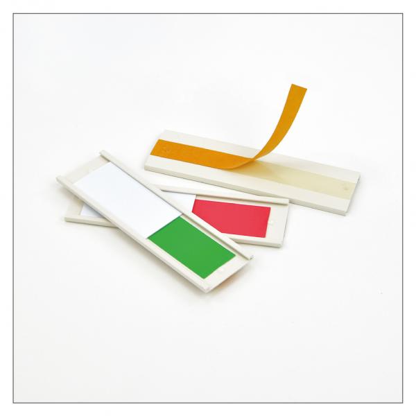 Grün/Rot-Schieber Lagerbestandskennzeichnung