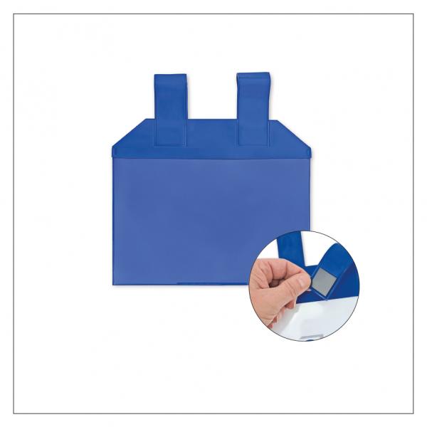 Einstecktasche mit magnetischen Aufhängeschlaufen - DIN A5